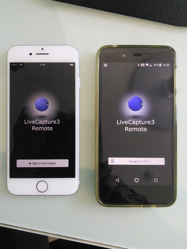 LiveCapture3 Remote iOS版開発中