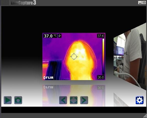 サーマルカメラを使用した温度検知のやり方