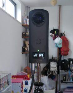 360度全天球カメラ RICOH THETA との接続方法