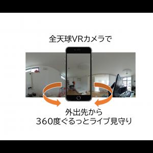 LiveCapture3 Remote 360度全天球映像対応